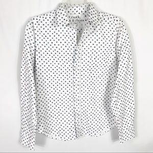 Frank & Eileen Star Barry Flannel Button Shirt XS